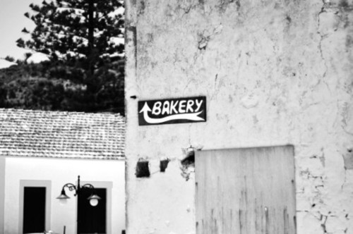 Wayfinding and Typographic Signs - bakery