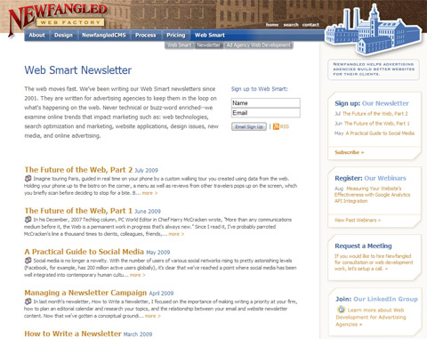 Web Smart Newsletter