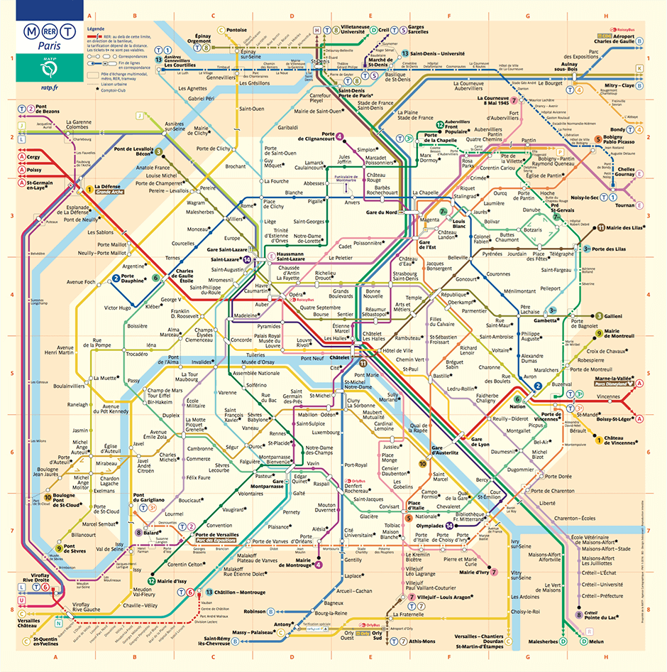 paris metro map official version