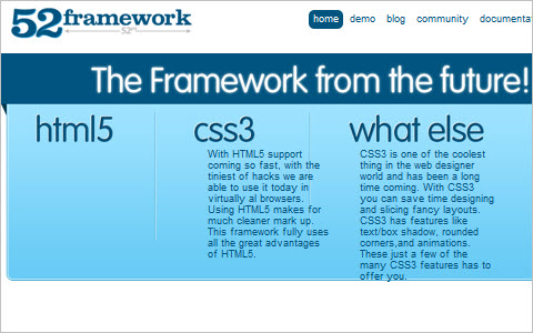 First ever html5 and css3 framework