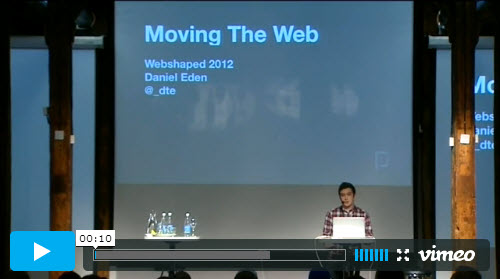 Dan Eden - Moving The Web