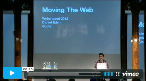 Dan Eden - Moving The Web