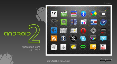 Free Icon Sets - Android Icons Set