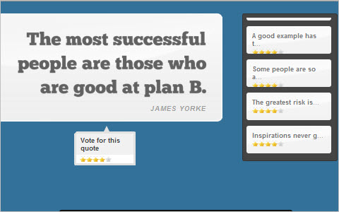 Fancy Quotes With jQuery, AJAX and CSS