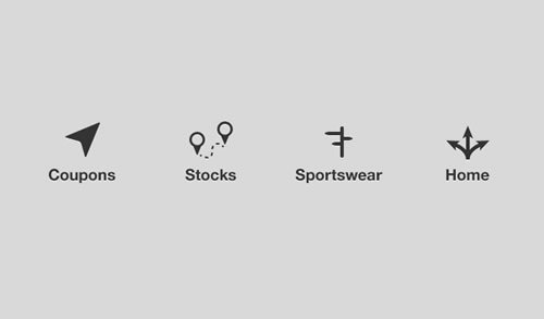 Navigation - Icons