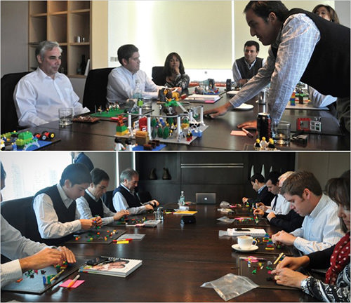 LEGO Serious Playwas created to facilitate innovation and business performance.