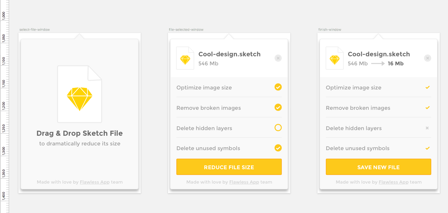 Optimizing Sketch Files: Lessons Learned In Creating The Reduce App (Case Study)