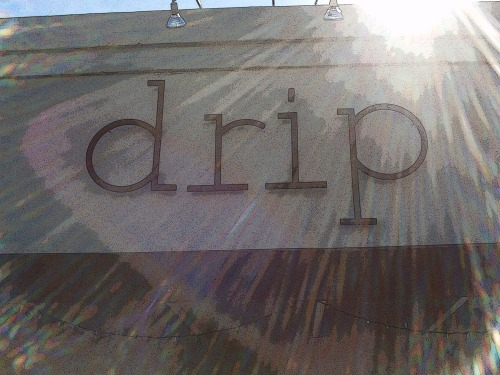 Wayfinding and Typographic Signs - drip