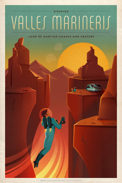 Mars Journeys illustration