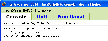 Test - JavaScriptMVC - screen shot.