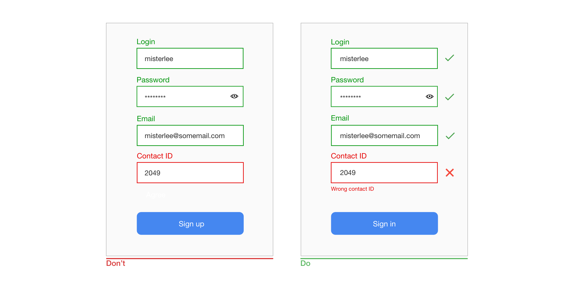 Best Practices For Mobile Form Design — Smashing Magazine on