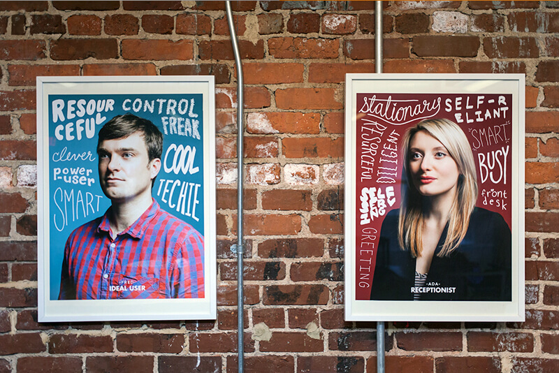 Take a leaf from MailChimp's book and cover your office walls with user personas.