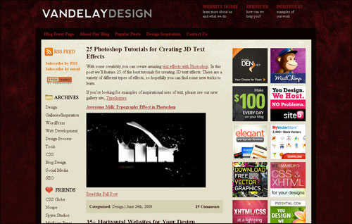 VandelayDesign.com/Blog