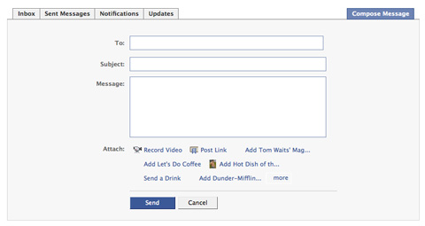 Screenshot-Private Messaging