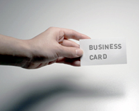 Pass Out Business Cards