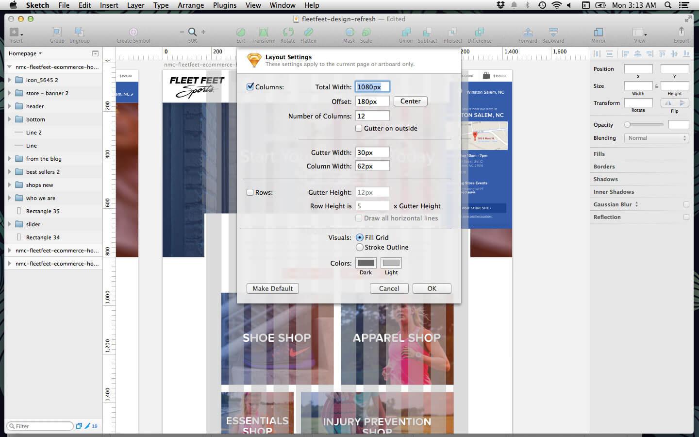 Using Sketch For Responsive Web Design (A Case Study