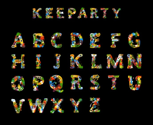Beautiful Free Fonts - keeparty