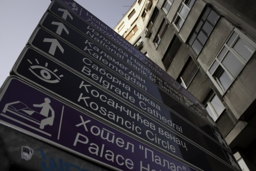Wayfinding and Typographic Signs - sky-is-the-limit