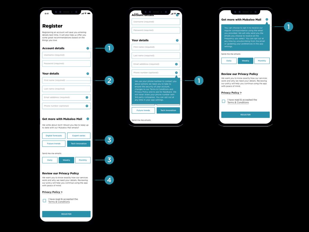 Privacy UX: Privacy
