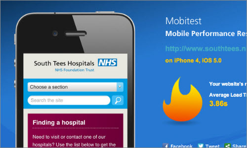 South Tees Hospital: Responsive Design case study