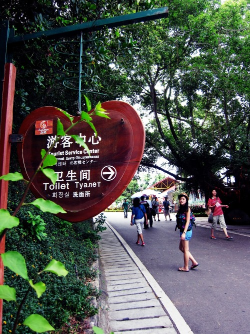 Wayfinding and Typographic Signs - heart-shaped-signboard