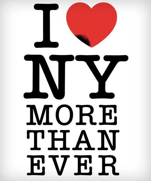 Glaser's updated version of I love New York more than ever
