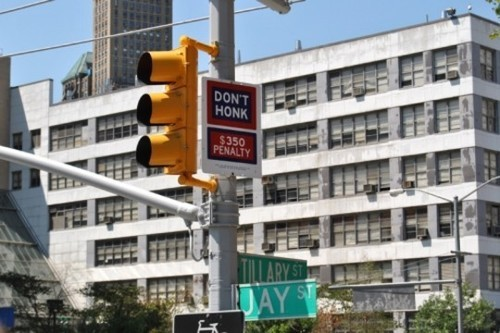 Wayfinding and Typographic Signs - honking-is-bad